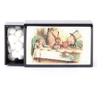 Mad Tea Party Slide Box with Mints - PLASTICLAND