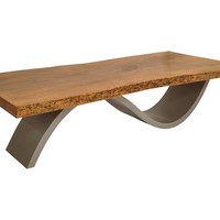 Rotsen Furniture - Brasilia Coffee Table - Mango Wood Top