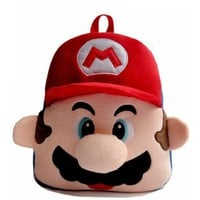 Super Mario Character Kids' Children Backpack