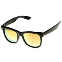 Hipster Trendy Colorful Flash Revo Lens Wayfarer Sunglasses 8078