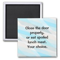 Close the Fridge Door!