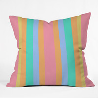 Lisa Argyropoulos Tropical Sundae Outdoor Throw Pillow