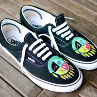 Black Vans Era Mdewakanton Dream Catchers