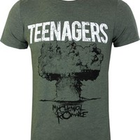 My Chemical Romance Teenagers Men's Slim Fit T-Shirt - Buy Online at Grindstore.com
