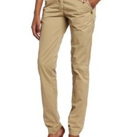 Maison Scotch Women's Chino With Braided Belt