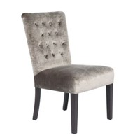 Lola Side Chair - Pewter Gold | Dining Chairs | Dining Room | Furniture | Z Gallerie