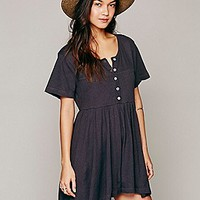 Free People Womens Who's That Girl Romper -