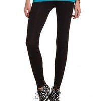 ANKLE-LENGTH COTTON SPANDEX LEGGINGS