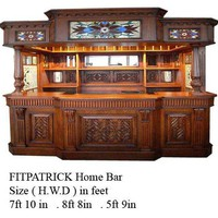 Irelands Fitzpatrick Huge Canopy Pub Bar : Bars Cigars and Brew