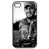 Simple Joy Phone Case, Luke Bryan Hard Plastic Back Cover Case for iphone 4, 4S