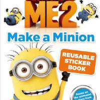 Despicable Me 2: Make a Minion Reusable Sticker Book (Paperback)