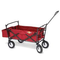 The Heavy Duty Foldaway Utility Cart - Hammacher Schlemmer