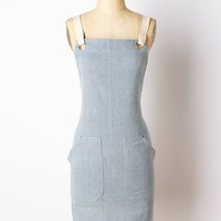 Farine Apron by Anthropologie Blue One Size Aprons