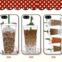 Cute cats, iPhone 5 case iPhone 5c case iPhone 5s case iPhone 4 case iPhone 4s case, Samsung Galaxy S3 \S4 Case--X09