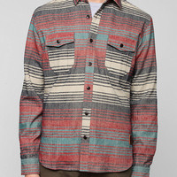 Mustang Stripe Flannel Button-Down Shirt - Urban Outfitters