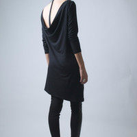 Asymmetrical Oversized Dress/Tunic - Model 33-1