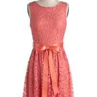 Lovely as Lychee Dress | Mod Retro Vintage Dresses | ModCloth.com