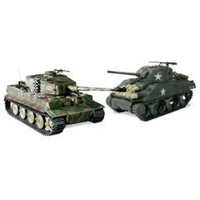 The Remote Control Authentic WWII Battling Tanks - Hammacher Schlemmer