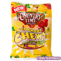Country Time Lemonade Chewy Candy: 7-Ounce Bag