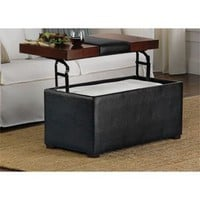 Lift-Top Storage Ottoman