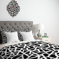 Nick Nelson Frenetic Duvet Cover