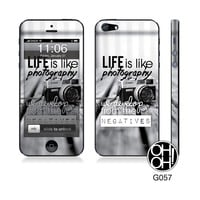 iPhone 5 / 5s / 5c Photography Skin - ModaVee