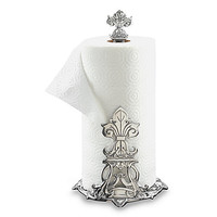 Arthur Court Designs Fleur-De-Lis Paper Towel Holder