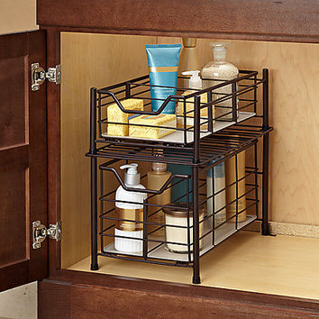 Deluxe Bathroom Cabinet Drawer - Bronze