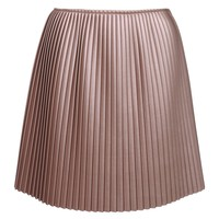 MSGM Pleated Neoprene Skirt - Pleated Skirt - ShopBAZAAR