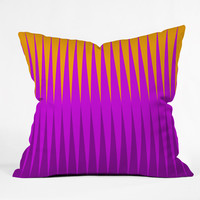 Caroline Okun Inferno Outdoor Throw Pillow