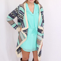 Mint Remember Me Cardigan