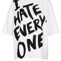 I Hate Everyone Oversize Tee