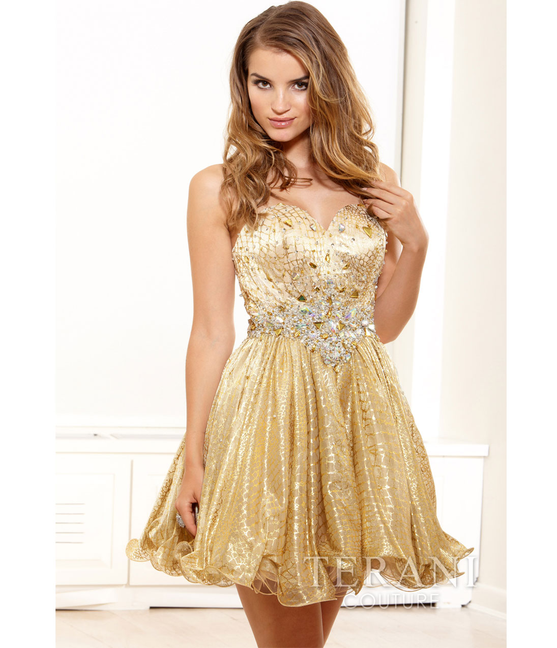 Prom Dresses Gold - Long Dresses Online