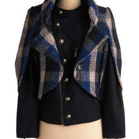 Know a Thing or Two Jacket | Mod Retro Vintage Jackets | ModCloth.com
