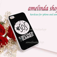 5sos in galaxy for iphone 4/4s case, iphone 5/5s case, iphone 5c case, samsung s3 i9300 case, samsung s4 i9500 case in amelindashop