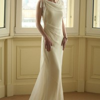 Silk Wedding Dress : wedding dress