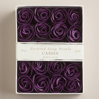 Cassis Soap Petals, 20-Piece