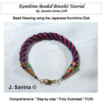 Kumihimo Beaded Bracelet Tutorial