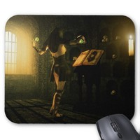 The Necromancer Mousepad