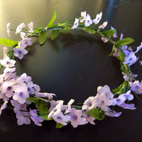 Lilac Dreams Flower Crown Headband- Accessories, Fashion, Flower Crown, Style, Summer, Headband, Wedding