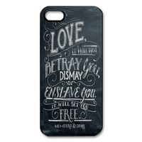 Mumford and Sons iPhone 5/5s Case, iPhone Cover, iPhone Hard Protective Case - Black&White - Retailing Packing