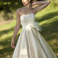 Designer wedding dress - Evie wedding dress - Lyn Ashworth bridal gown collection