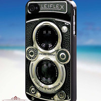 Vintage Camera Rolleiflex - iPhone 4/4s/5/5s/5c Case - Samsung Galaxy S3/S4 - Blackberry z10 Case - Black or White