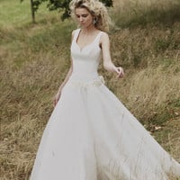 Designer wedding dress - Katherine wedding dress - Lyn Ashworth bridal gown collection