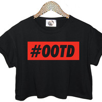 OOTD outfit of the day t shirt crop tank top tee funny womens mens hipster instagram tumblr blog cara fashion festival logo celebs dope vtg