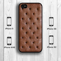Ice Cream Sandwich iPhone 5S Case, Creative Food iPhone 5C Case iPhone 5 Case iPhone 4S Back Cover --000010