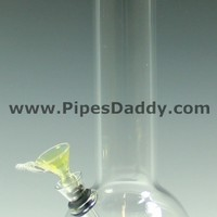 Trooper 15 Glass Water Pipe - Blue
