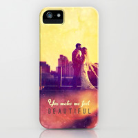You make me feel beautiful - for iphone iPhone & iPod Case by Simone Morana Cyla