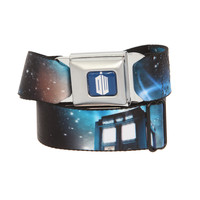 Dr. Who TARDIS Galaxy Seat Belt Belt