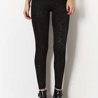 PAISLEY BURNOUT DEVORE LEGGING